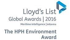 The Hutchison Ports Environment Award 2016